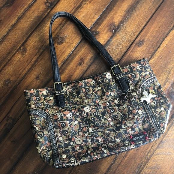 Sakroots Handbags - Sakroots by Sak Satchel Purse with Unicorn Charm